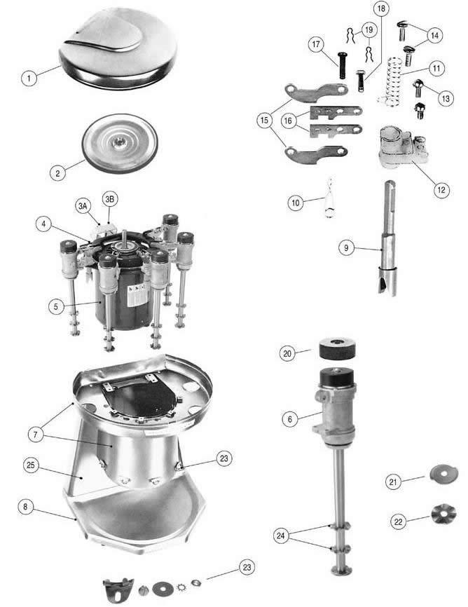 Mixer Parts Www Bilderbeste Com